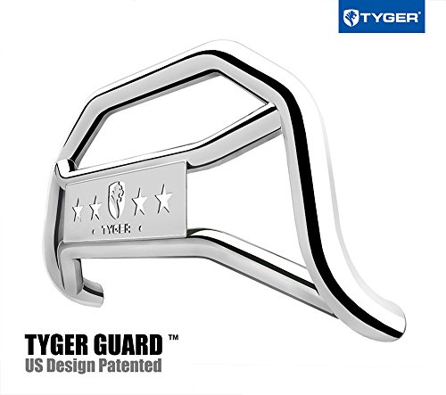 2015 2019 Gmc Canyon Extended Cab Gm Front Rear All: Tyger Auto TG-GD6C60147 Front Bumper Guard Stainless Steel