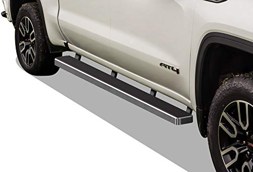 MaxMate Premium Custom Fit 2019 Chevrolet//GMC Silverado//Sierra 1500 Double Cab 3 Stainless Steel Side Step Running Boards Nerf Bars 2pc with Mounting Bracket Kit